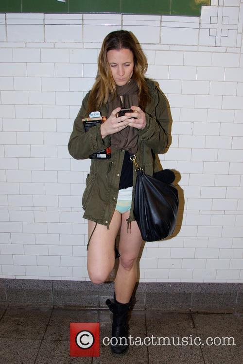 No Pants Subway Ride 6