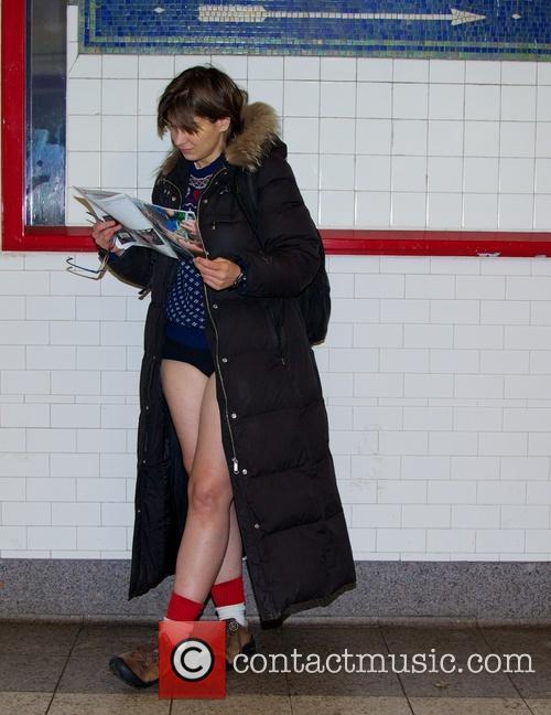 No Pants Subway Ride 7