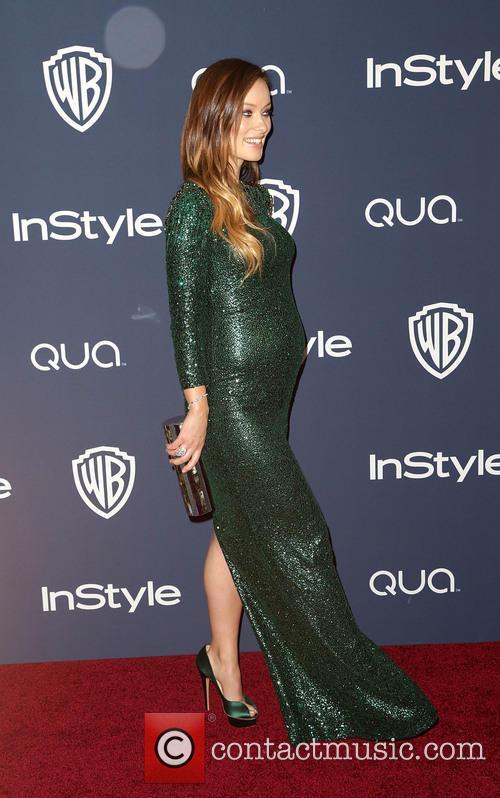 Olivia Wilde, Oasis Courtyard at the Beverly Hilton Hotel, Golden Globe Awards, Beverly Hilton Hotel