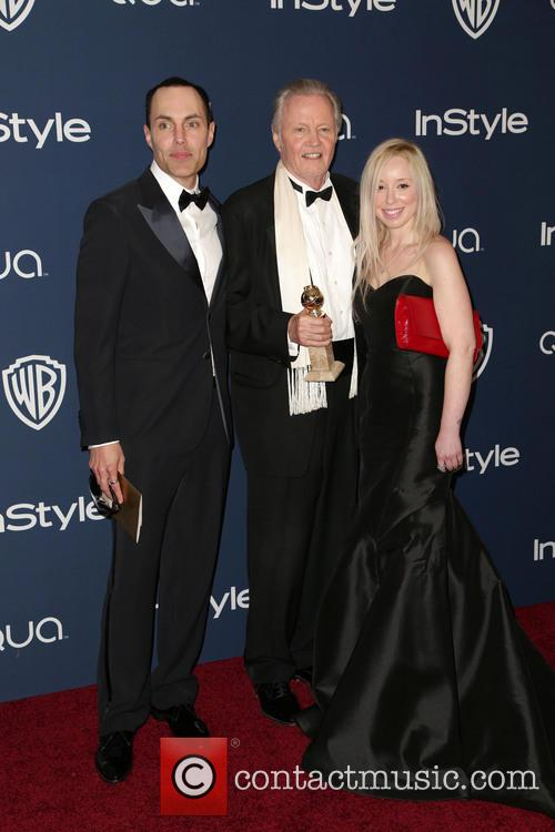 James Haven, Jon Voight, Guest, Oasis Courtyard at the Beverly Hilton Hotel, Golden Globe Awards, Beverly Hilton Hotel