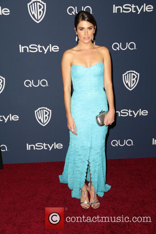 Nikki Reed, Oasis Courtyard at the Beverly Hilton Hotel, Golden Globe Awards, Beverly Hilton Hotel
