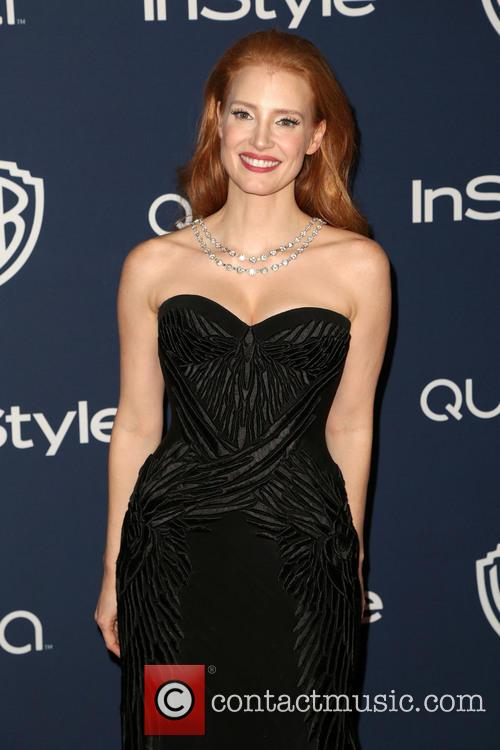 jessica chastain 15th annual warner bros and 4022081