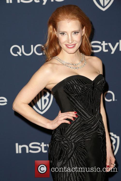 jessica chastain 15th annual warner bros and 4022102