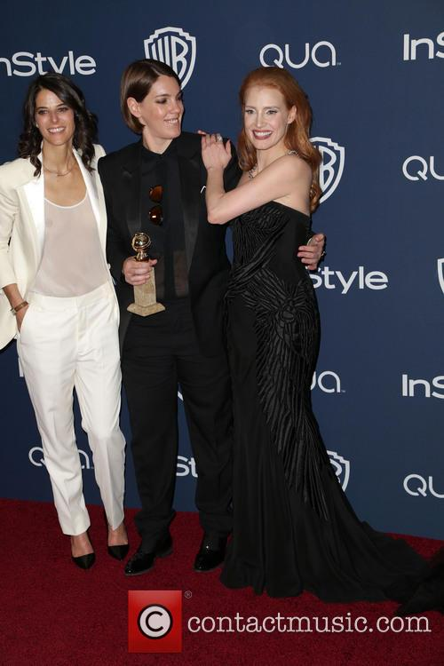 Robyn Shapiro, Megan Ellison and Jessica Chastain 4