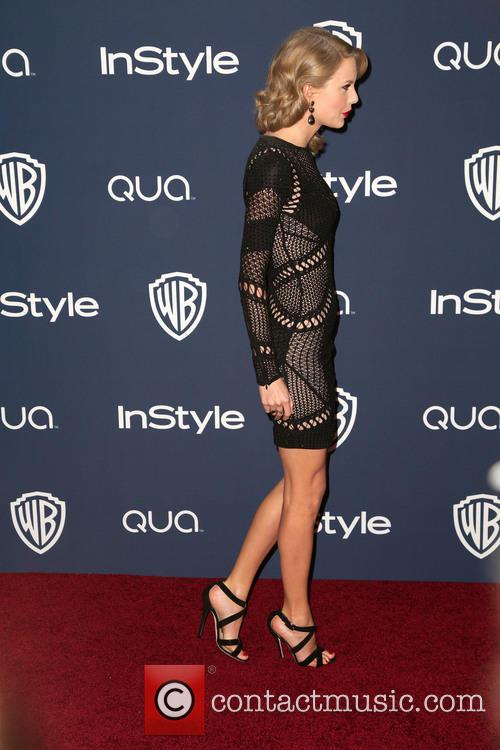 Taylor Swift, Oasis Courtyard at the Beverly Hilton Hotel, Golden Globe Awards, Beverly Hilton Hotel