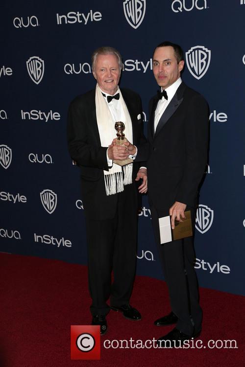 Jon Voight, James Haven, Oasis Courtyard at the Beverly Hilton Hotel, Golden Globe Awards, Beverly Hilton Hotel