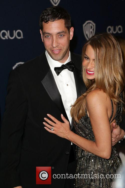 Nick Loeb and Sofia Vergara 1