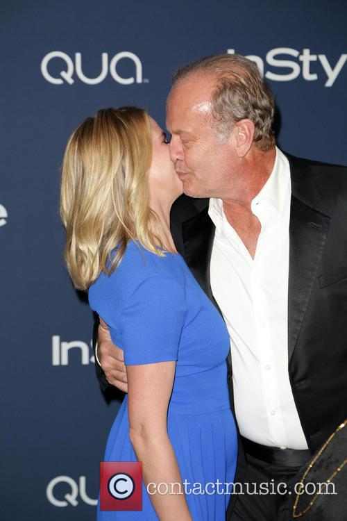Kayte Walsh and Kelsey Grammer 1