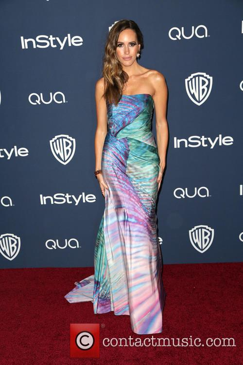 Louise Roe, Oasis Courtyard at the Beverly Hilton Hotel, Golden Globe Awards, Beverly Hilton Hotel