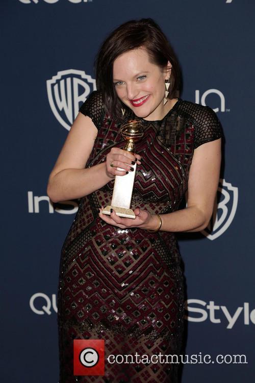 Elisabeth Moss Golden Globes 2014