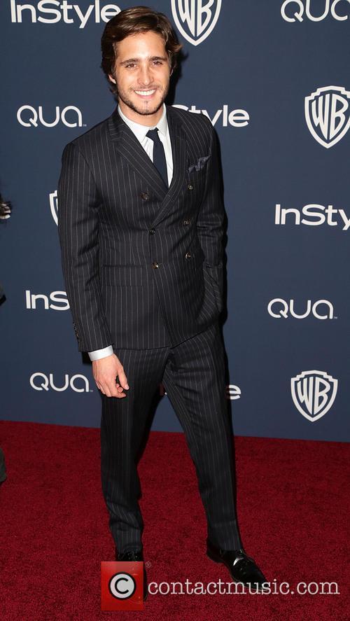 Diego Boneta, Oasis Courtyard at the Beverly Hilton Hotel, Golden Globe Awards, Beverly Hilton Hotel