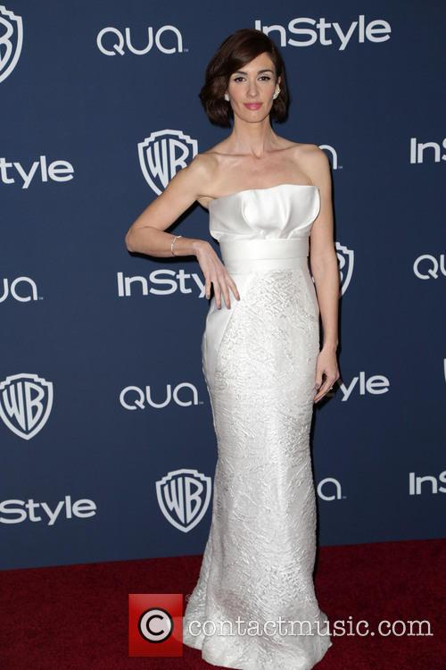 Paz Vega, Oasis Courtyard at the Beverly Hilton Hotel, Golden Globe Awards, Beverly Hilton Hotel