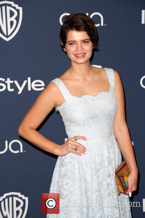 Pixie Geldof, Oasis Courtyard at the Beverly Hilton Hotel, Golden Globe Awards, Beverly Hilton Hotel