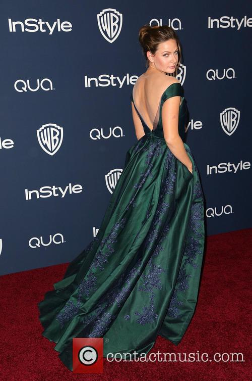 Rebecca Ferguson, Oasis Courtyard at the Beverly Hilton Hotel, Golden Globe Awards, Beverly Hilton Hotel