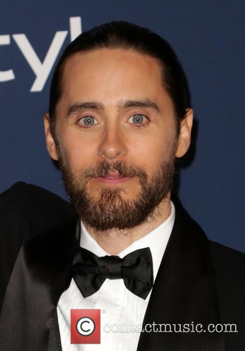Jared Leto, Oasis Courtyard at the Beverly Hilton Hotel, Golden Globe Awards, Beverly Hilton Hotel