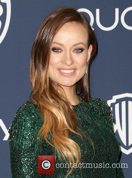Olivia Wilde, Oasis Courtyard at the Beverly Hilton Hotel, Golden Globe Awards, Beverly Hilton Hotel