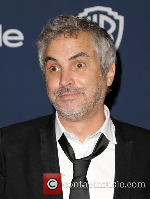 Alfonso Cuarón, Oasis Courtyard at the Beverly Hilton Hotel, Golden Globe Awards, Beverly Hilton Hotel