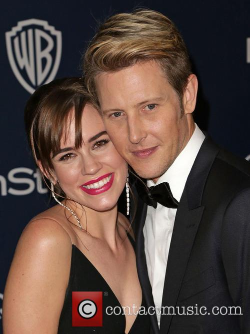 Christa B. Allen, Gabriel Mann, Oasis Courtyard at the Beverly Hilton Hotel, Golden Globe Awards, Beverly Hilton Hotel