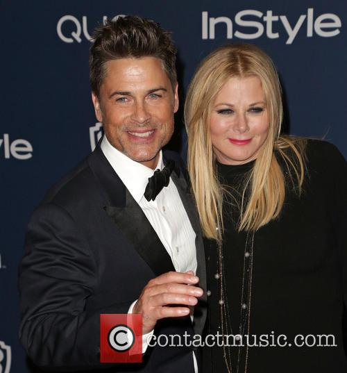 Rob Lowe and Sheryl Berkoff 1