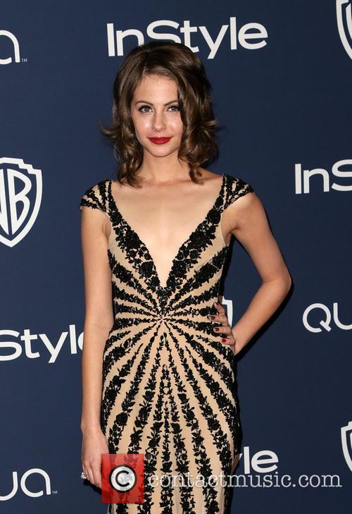 Willa Holland, Oasis Courtyard at the Beverly Hilton Hotel, Golden Globe Awards, Beverly Hilton Hotel