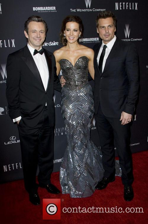 Michael Sheen, Kate Beckinsale and Len Wiseman 4