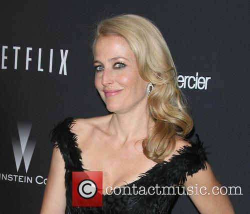 Gillian Anderson, The Beverly Hilton Hotel, Beverly Hilton Hotel
