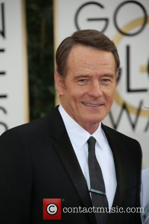 Bryan Cranston at Golden Globe Awards