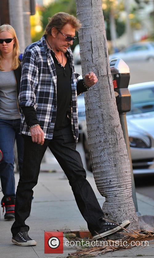 Johnny Hallyday And Laeticia Hallyday Shopping