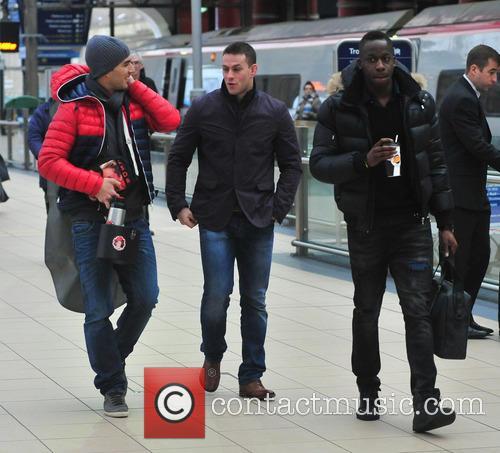 Luis Suarez and Mamadou Sakho 2