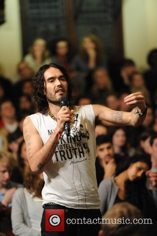 Russell Brand Demands a Revolution of Civil Disobedience...