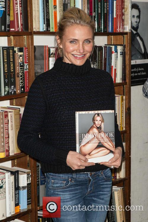 Cameron Diaz promotes her new book 'The Body...