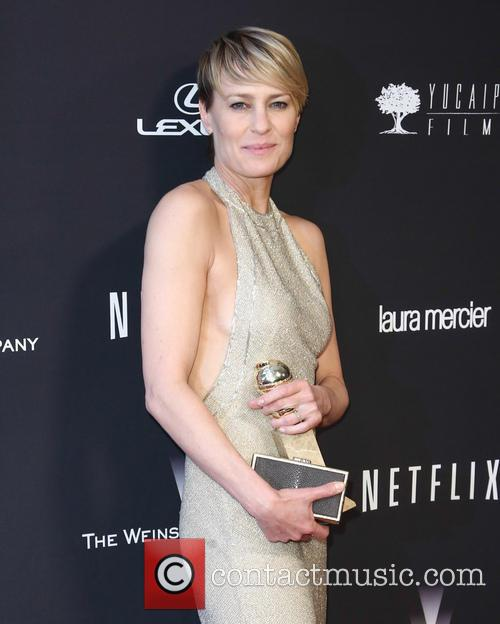 Robin Wright, Golden Globes, Beverly Hills Hotel