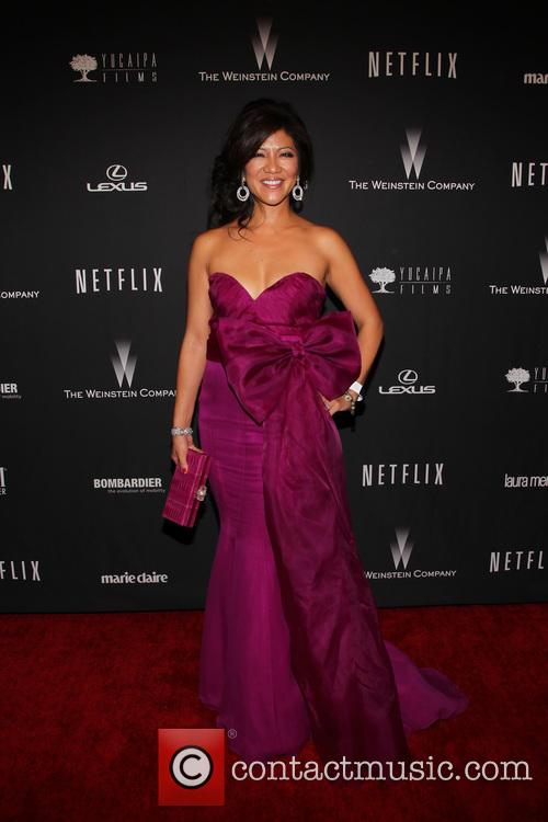 Julie Chen, The Beverly Hilton Hotel, Golden Globe Awards, Beverly Hilton Hotel
