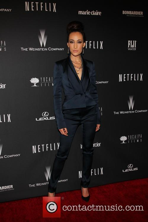 Maggie Q, The Beverly Hilton Hotel, Golden Globe Awards, Beverly Hilton Hotel
