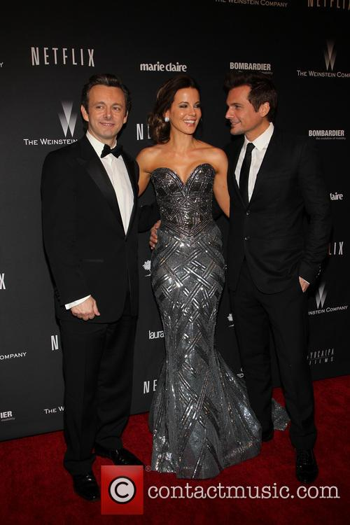 Michael Sheen, Kate Beckinsale and Len Wiseman 2