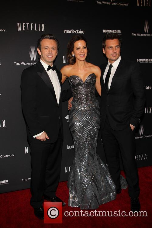 Michael Sheen, Kate Beckinsale and Len Wiseman 1