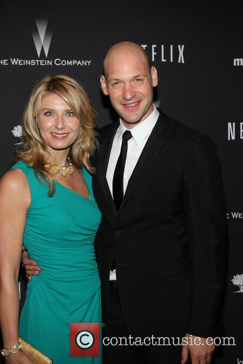 Nadia Bowers, Corey Stoll, The Beverly Hilton Hotel, Golden Globe Awards, Beverly Hilton Hotel