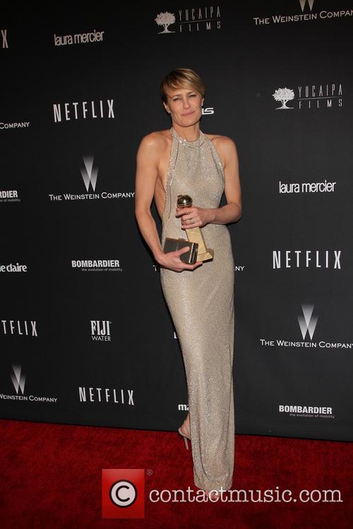 Robin Wright, The Beverly Hilton Hotel, Golden Globe Awards, Beverly Hilton Hotel