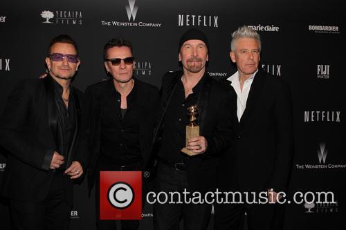 U2, The Beverly Hilton Hotel, Golden Globe Awards, Beverly Hilton Hotel