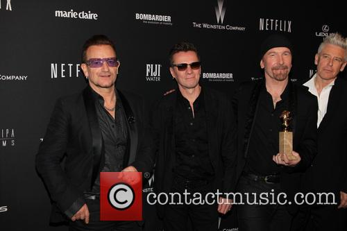 U2, The Beverly Hilton Hotel, Golden Globe Awards, Beverly Hilton Hotel