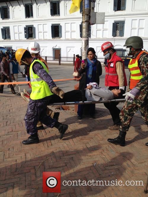 Earthquake Drill in Kathmandu