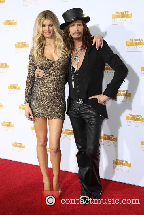 Marissa Miller and Steven Tyler 2