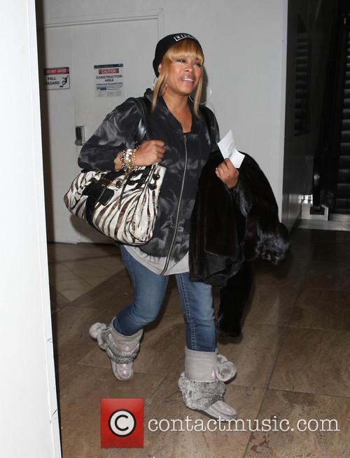 Tionne Watkins At LAX