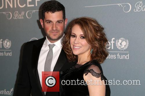 David Bugliari and Alyssa Milano 2