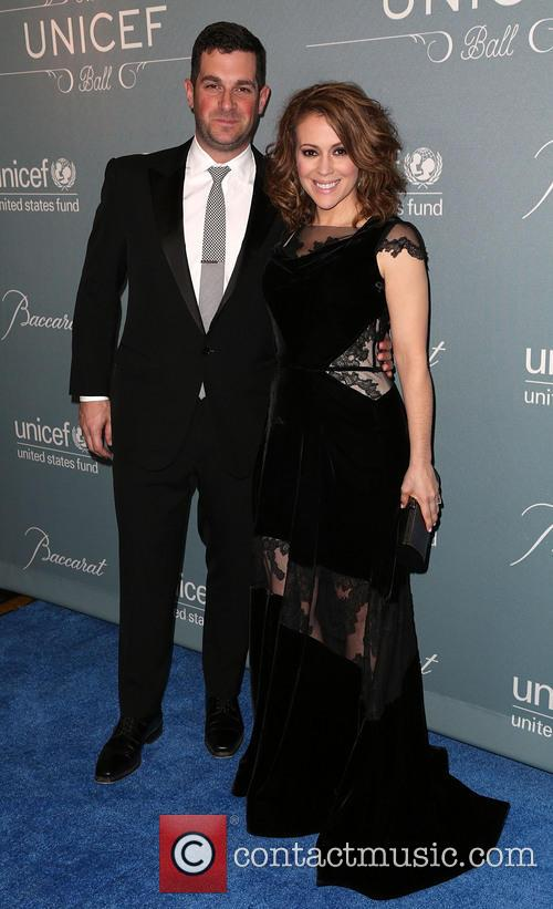 David Bugliari and Alyssa Milano 4