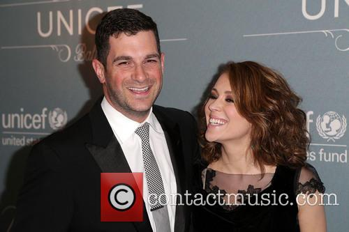 David Bugliari and Alyssa Milano 1
