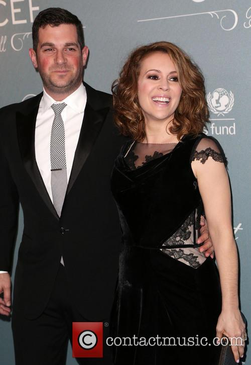 David Bugliari and Alyssa Milano 6