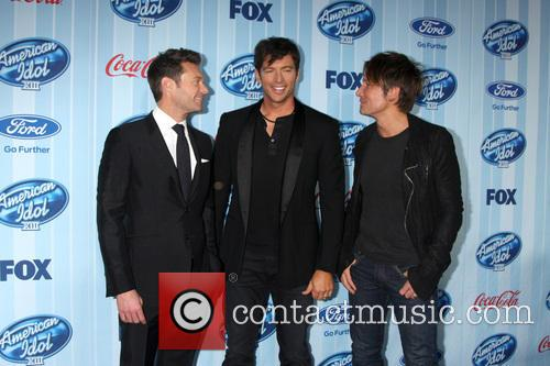 Ryan Seacrest, Harry Connick Jr and Keith Urban 5
