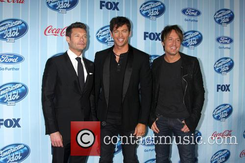 Ryan Seacrest, Harry Connick Jr and Keith Urban 7