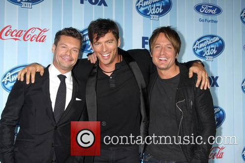 Ryan Seacrest, Harry Connick Jr and Keith Urban 1